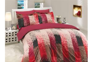 """Комплект постельного белья  """"ALANDRA"""", бордовый"""