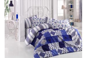 """Комплект постельного белья  """"CLARA"""", синий"""