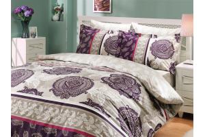 """Комплект постельного белья  """"ARELLA"""", фиолетовый"""