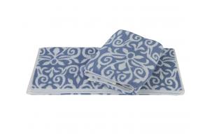 """Махровое полотенце  """"VALENSIYA"""", синий"""