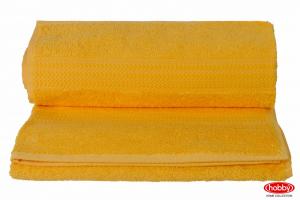 """Махровое полотенце """"RAINBOW"""", т.жёлтый"""