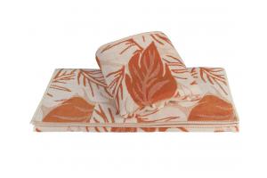 """Махровое полотенце  """"AUTUMN"""", оранжевый"""