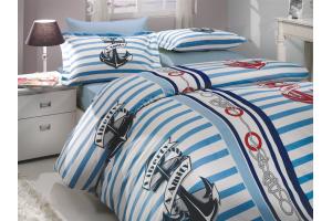 """Комплект постельного белья  """"BERMUDA"""", синий"""