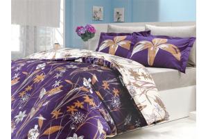 """Комплект постельного белья  """"CLARINDA"""", фиолетовый"""