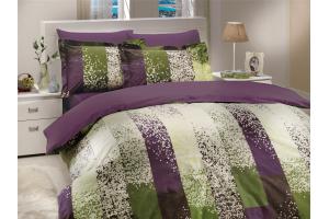 """Комплект постельного белья  """"ALANDRA """", т.фиолетовый"""