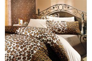 """Комплект постельного белья  """"ADRIANA"""", коричневый"""