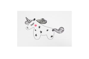 Открытка Black Unicorn