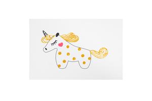 Открытка Gold Unicorn