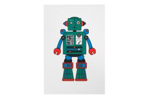 Открытка Robot Martin