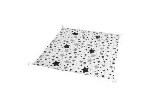 Стеганый игровой коврик Black Stars