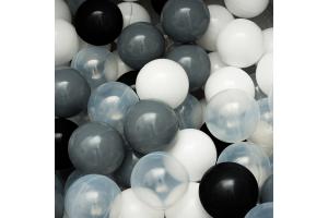 """Сет из 200 шаров для сухого бассейна """"Монохром"""""""