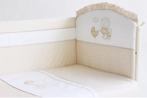 """Комплект белья для новорожденных в кроватку """"Прогулка"""" 3 предмета"""