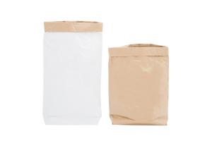 Эко-мешок для игрушек из крафт бумаги.