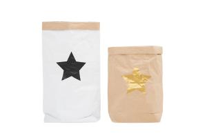 """Эко-мешок для игрушек из крафт бумаги """"Big Star"""""""