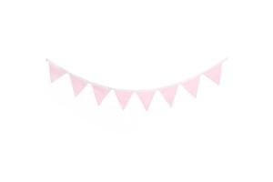 """Гирлянда из флажков """"Simple Pink"""""""