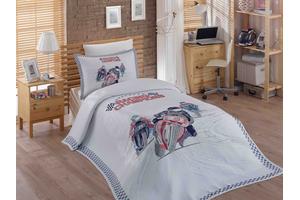 """Комплект постельного белья с покрывалом жаккард """"LE-MAN"""""""