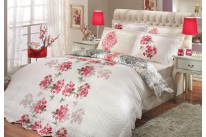 """Комплект постельного белья  с двухсторонним стеганным покрывалом  """"VIYELLA-ROYAL"""""""