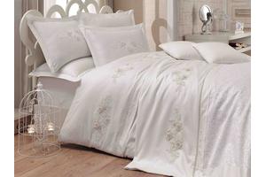 """Комплект постельного белья сатин с покрывалом """"ARIENDA"""""""