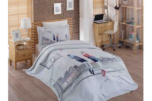 """Комплект постельного белья  с покрывалом жаккард """"SAN-DIEGO"""""""
