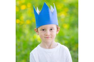 """Детская корона """"Navy"""""""